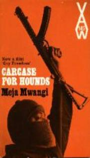 Heinemann's African Writers Series cover of Carcase for Hounds by Meja Mwangi