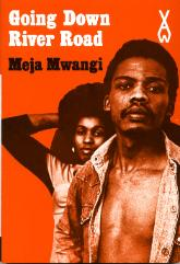 Heinemann's African Writers Series cover of Going Down River Road by Meja Mwangi